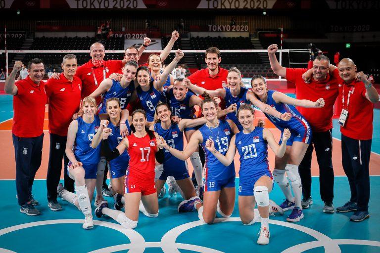 Бронза за одбојкашице и рекордан број медаља за Србију на Олимпијским играма
