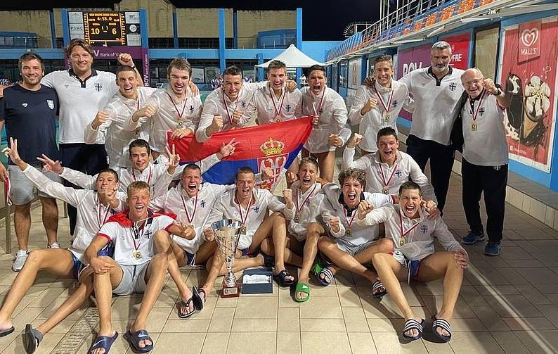 Srbska dominacija u vaterpolu: Juniori Srbije prvaci Evrope!