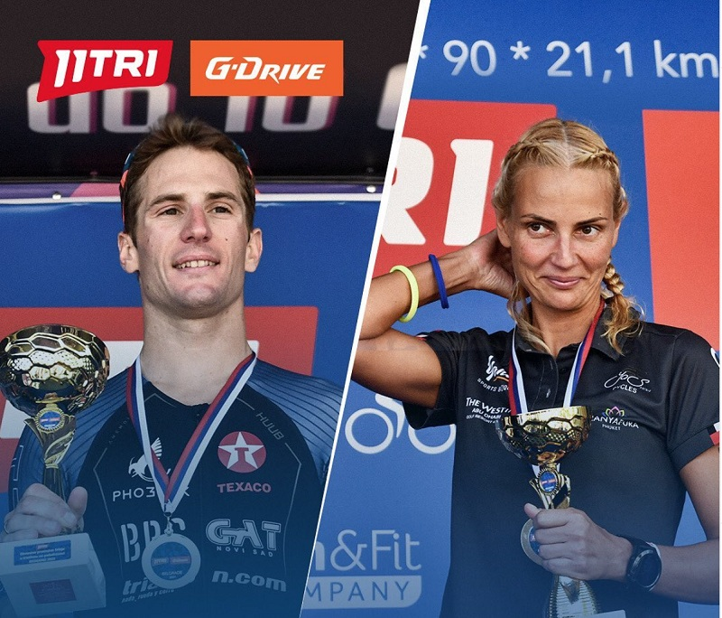 Завршено Отворено првенство Србије у триатлону на полудистанци 11TRI G-DRIVE