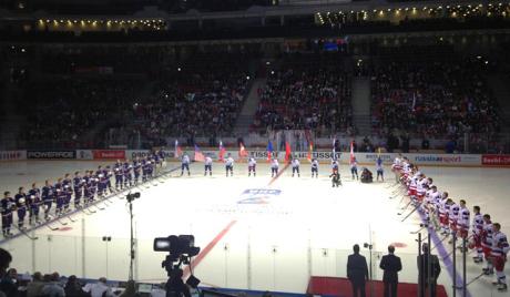 Руски јуниори успешно испробали олимпијски лед
