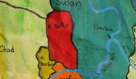 Фудбалски меч у ратном Дарфуру