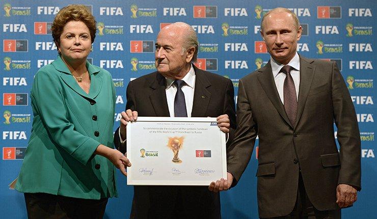 Лондон позива да се Русијси одузме организација СП у фудбалу 2018.