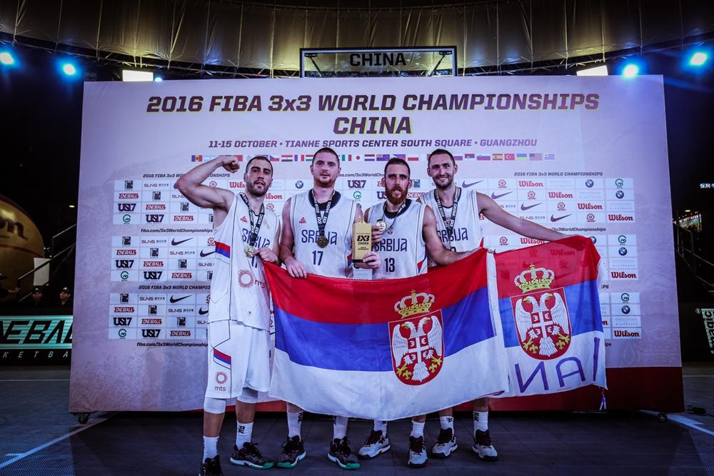 Србски баскеташи на крову света