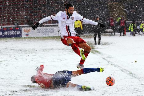 """Како је фудбал у Русији постао """"зимски спорт"""""""