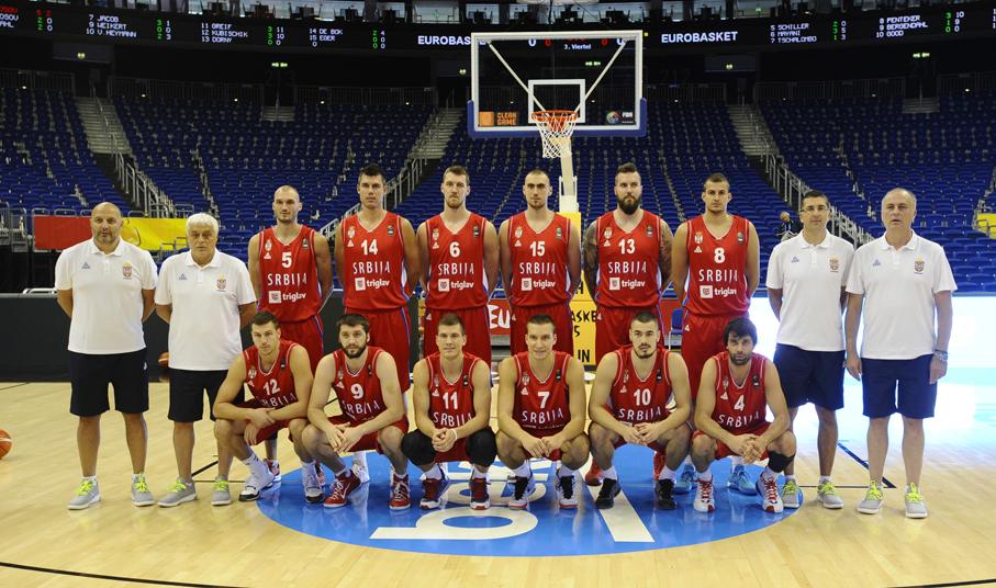 Србија добила ривале у групи на Евробаскету 2017.
