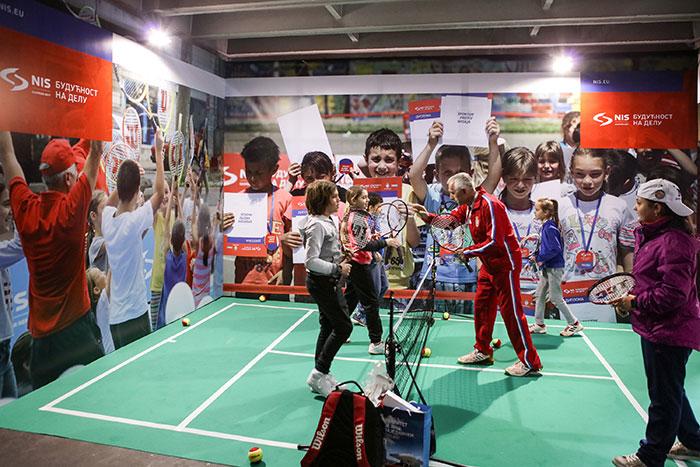 Бесплатне школе тениса за децу на Дејвис Купу