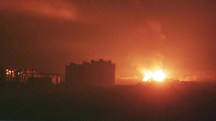 Жестоки напади непријатељске НАТО авијације на градове широм СРЈ