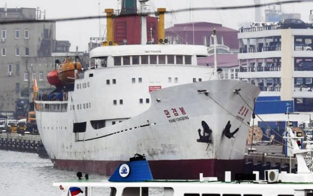 Први путнички брод из Северне Кореје стигао у Русију