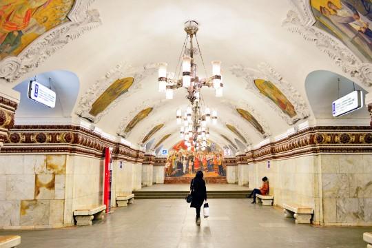 Ризница московског метроа: Пет незаобилазних станица Плаве линије