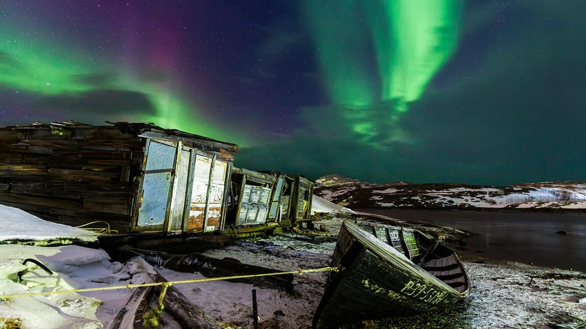 Седам најбољих места за посматрање поларне светлости у Русији