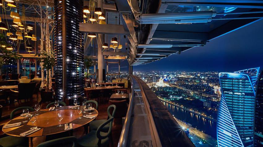 Moskva kao na dlanu: Pet restorana sa neverovatnim pogledom na rusku prestonicu