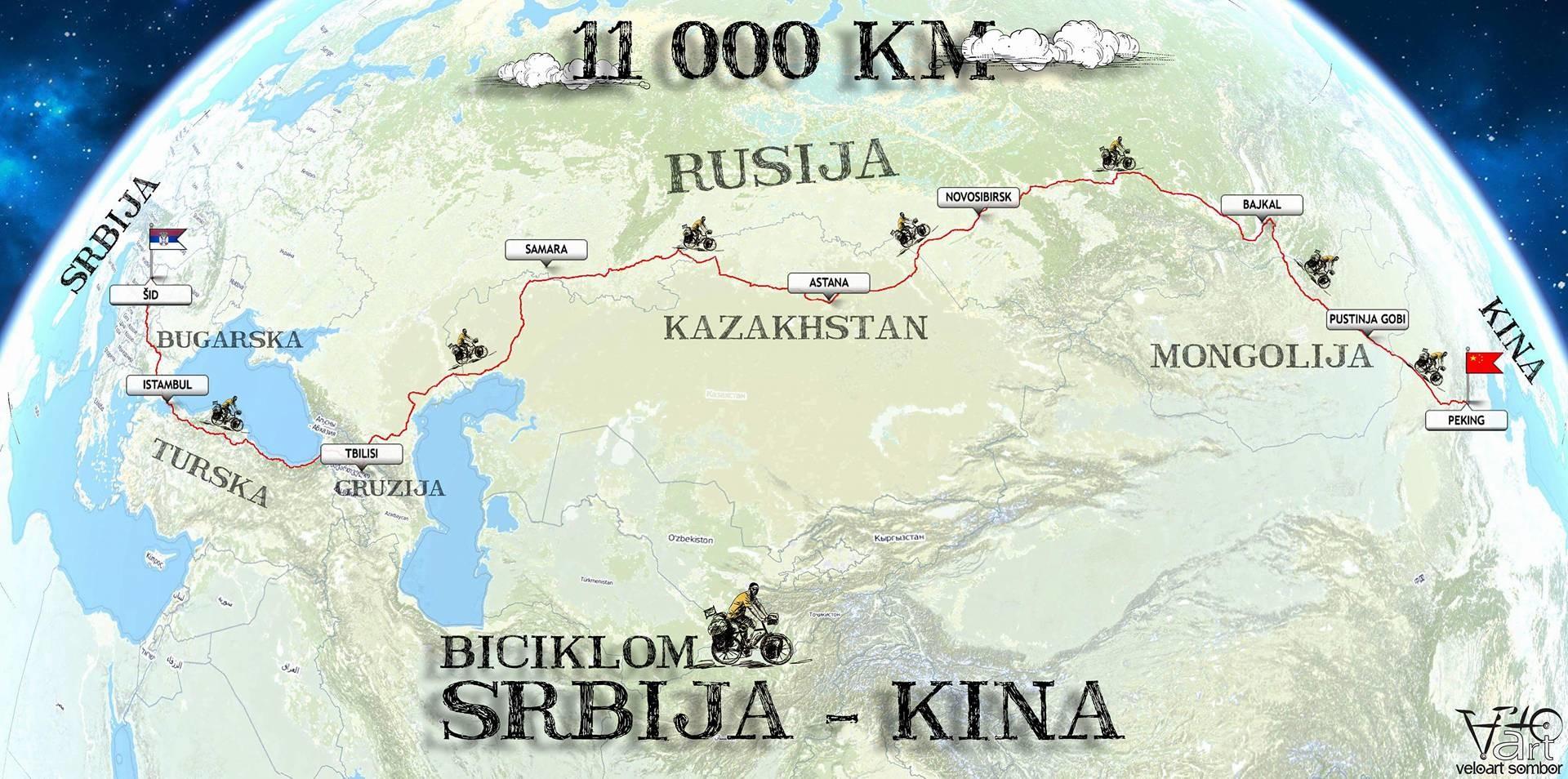 Sedam saveta biciklista koji su videli celu Rusiju