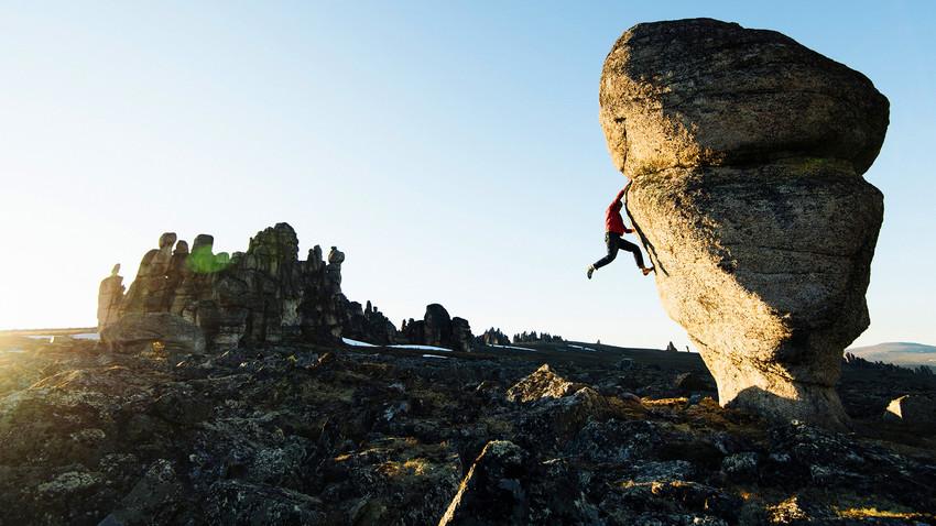 Kako je rusko-austrijska ekspedicija osvojila sibirske kamene stubove kojih nema ni na Google karti