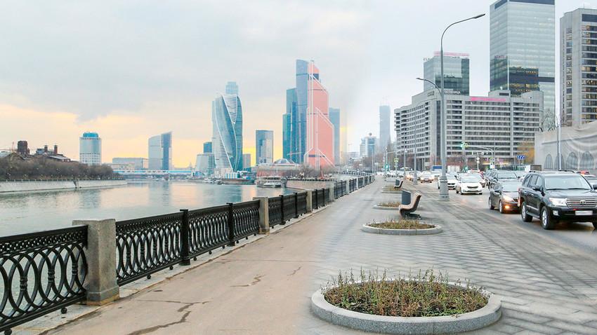 Kako je Moskva menjala svoj izgled u drugoj deceniji ovog veka