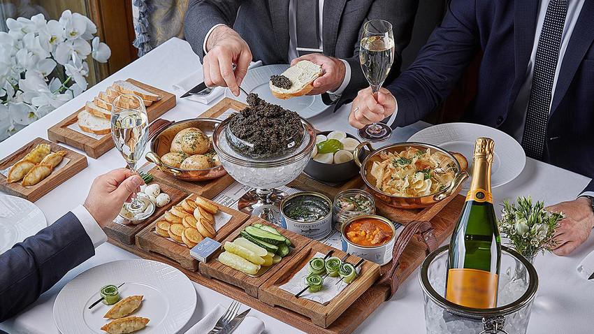 Na ruski način: Pet najskupljih jela u moskovskim restoranima