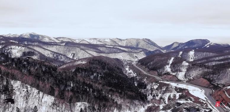 Лет изнад сахалинског гнезда: Поглед на нетакнуту природу руског острва