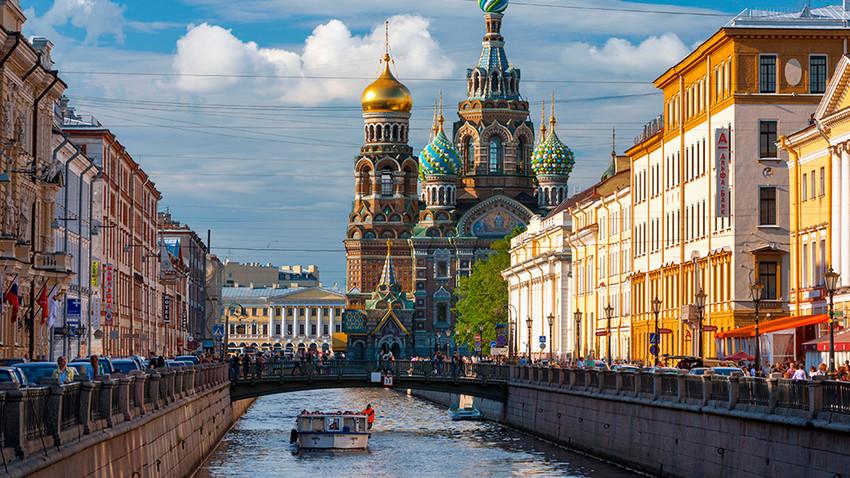 Пет елитних рејона Санкт Петербурга