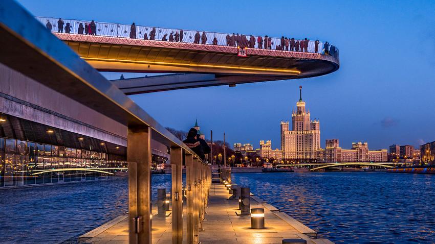 Осам најлепших места за ноћну шетњу по Москви