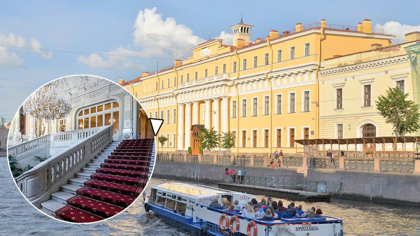 Раскошни Јусуповски дворац: Овако изгледа унутрашњост једног од најлепших здања Санкт Петербурга