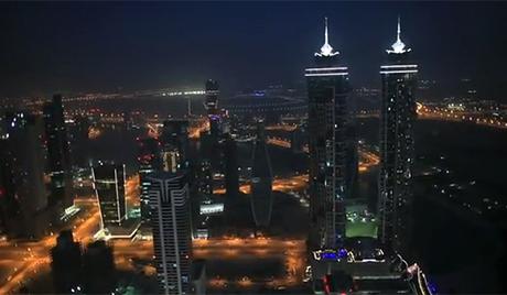 Дубаи: две палме испод 400 метара висине