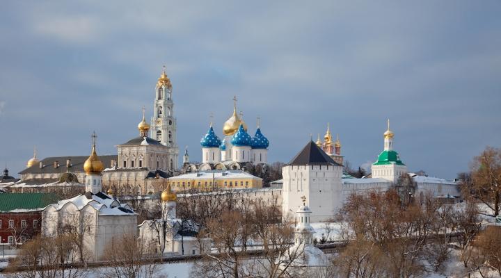 Десет најлепших руских манастира у зимском амбијенту