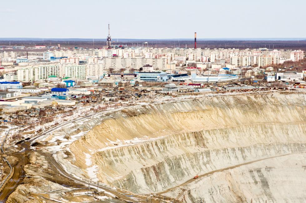 """Моноград Мирни – """"дијамантска престоница"""" Русије"""