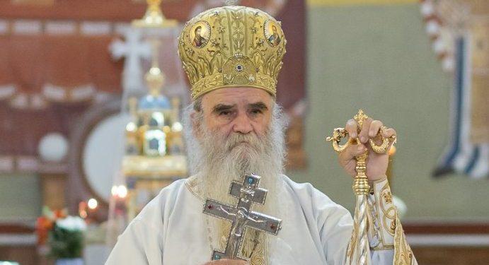 Митрополит Амфилохије: Скидање спомен-крста са Сахат-куле је обнављање мржње