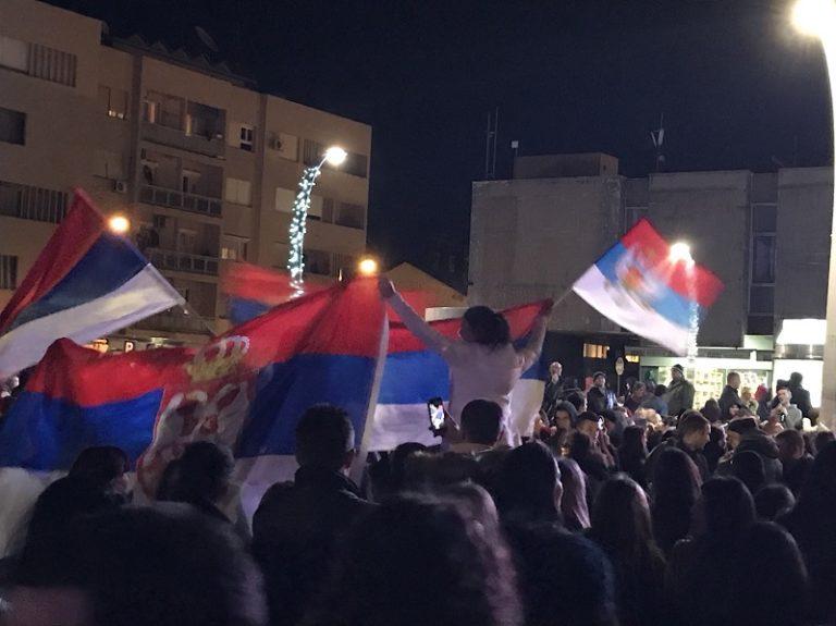 На Тргу Републике у Подгорици дочекана Православна нова година