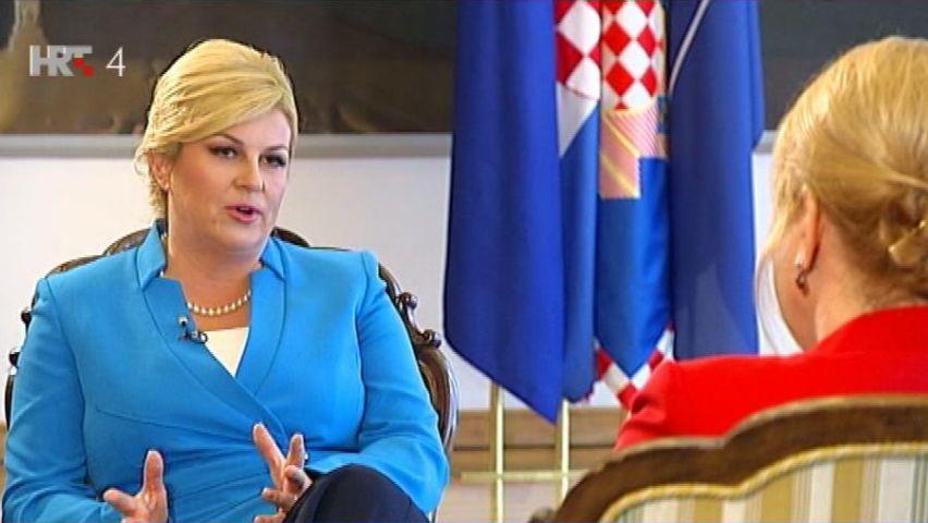 Kitarovićeva: Srbiji pružamo ruku mira i saradnje