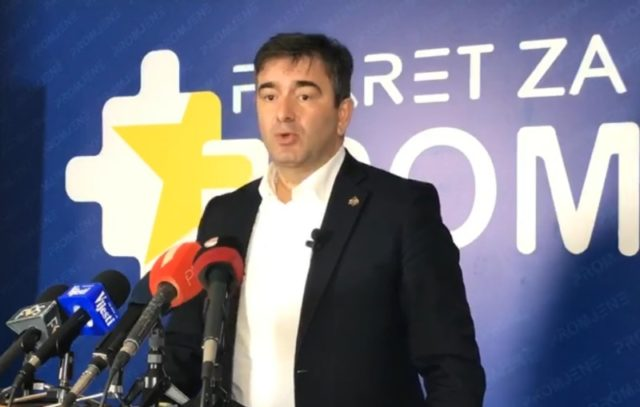 Медојевић: Марковић понизио суверенитет и достојанство грађана и државе Црне Горе