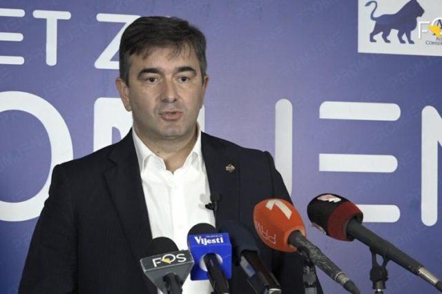 Медојевић: Територија државе није прћија Душка Марковића!