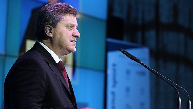 Иванов неће потписати указ о примени закона о употреби албанског језика