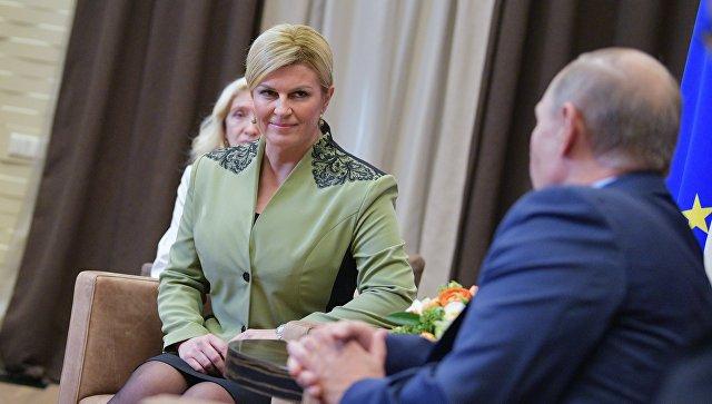 Китаровић: Политика дијалога једини пут за односе између Русије и западних држава