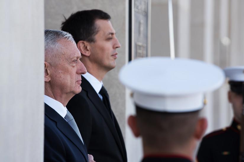 Matis i Bošković: SAD spremne da pomognu modernizaciju crnogorske vojske