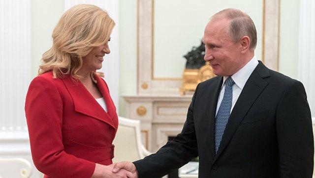 Kitarovićeva se založila za dijalog sa Rusijom umesto njene izolacije