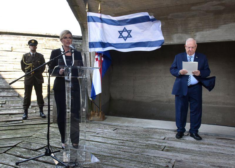 Ривлин у Јасеновцу: Сви имају обавезу да се не забораве убијени, а не да се доносе закони који нарушавају оно што су нацисти и колаборационисти учинили