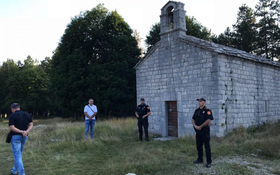 Црногорска полиција забранила Преображенску литургију на Ивановим Коритима