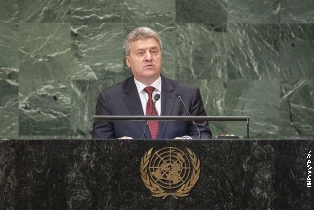 Македонци бојкотовали говор свог председника у УН