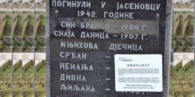 """У Хрватској би могли бити уклоњени споменици који пропагирају """"величају агресију на Хрватску или великосрпство"""""""