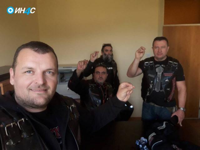 "Policija Crne Gore privela ""Noćne vukove"" iz pratnje patrijarha"