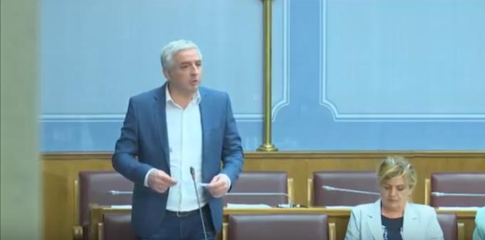 Вучуровић: Некадашњи бијели орао, који је постао шврака, планира НАТО базу у Никшићу