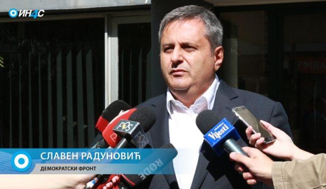 Radunović: Medojević kidnapovan, jer nije htio da cinkari građane