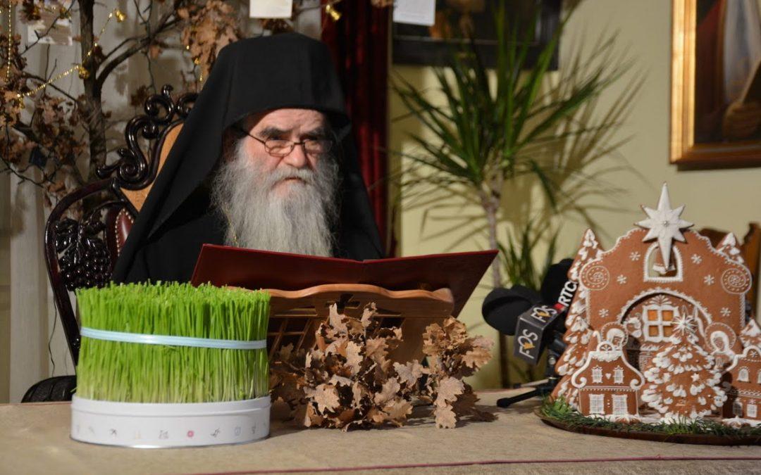 Божићна порука Митрополита Амфилохија