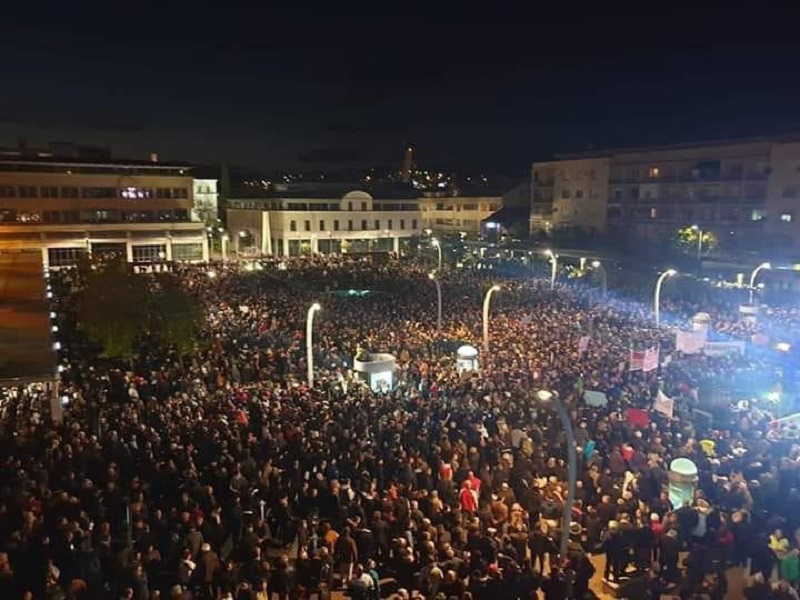 Veliki protest u 18 časova u Podgorici