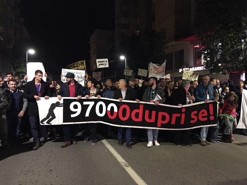 """Протест """"Одупри се – 97000"""": Пламен отпора се упалио! Пад режима је неминован!"""