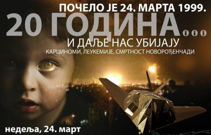 Širom Crne Gore obilježavanje 20 godina NATO agresije