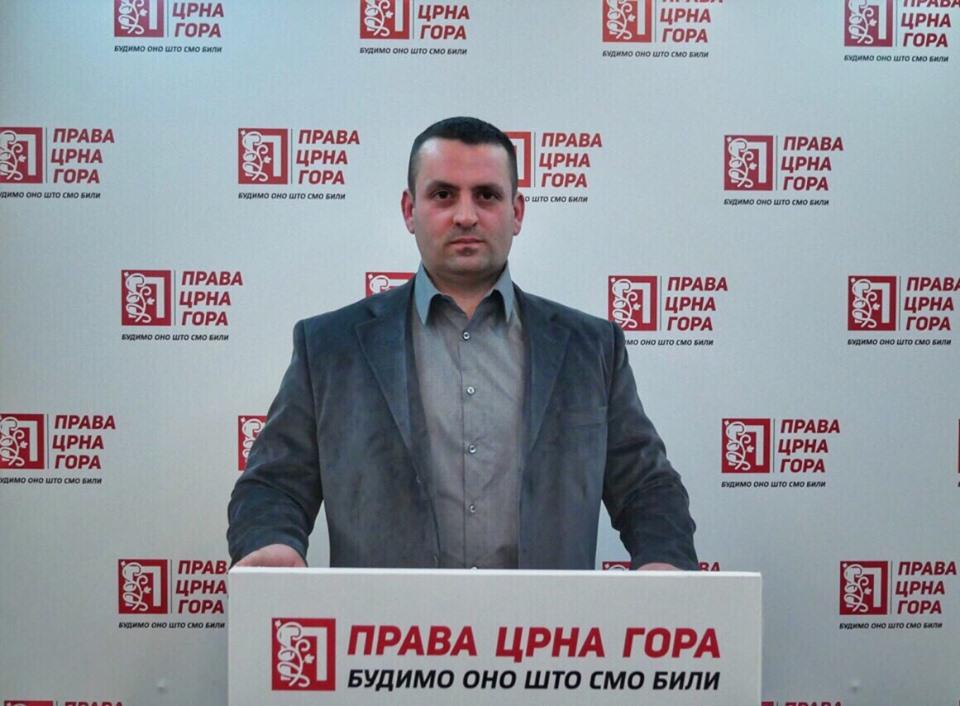 Права Црна Гора: Одакле право господину Бериши да се мијеша у унутрашње ствари Црна Горе?