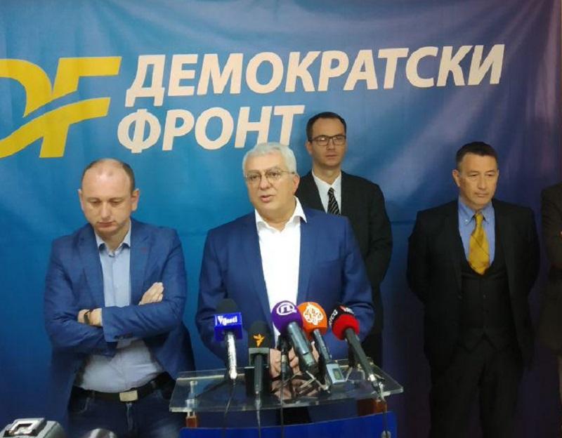 ДФ поручио чланству: Не долазите у Подгорицу, чекајте упутства у страначким просторијама широм Црне Горе