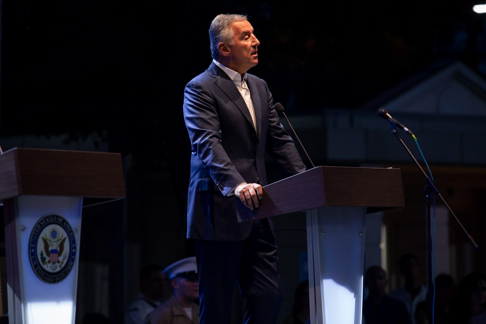 Ђукановић: СПЦ темпирана бомба у темељу државе Црне Горе