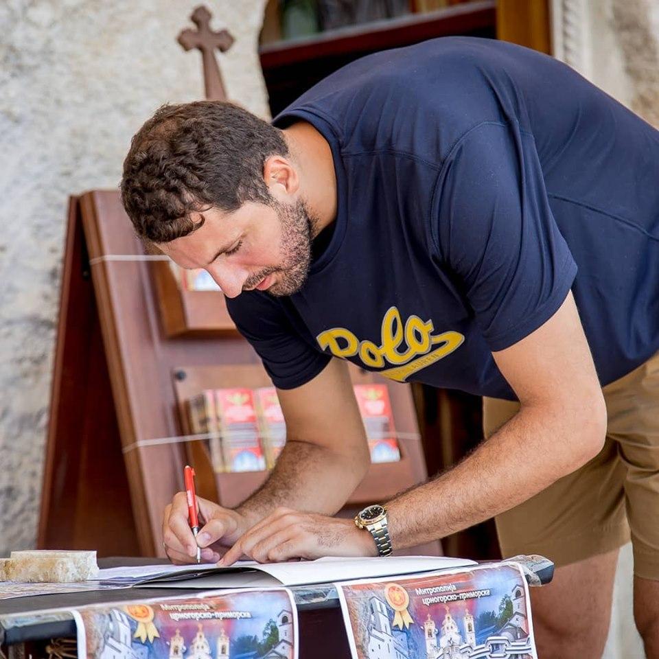Црногорски кошаркаш Никола Миротић потписао петицију против отимања светиња СПЦ-а